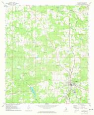 Lafayette, Alabama 1971 (1973) USGS Old Topo Map Reprint 7x7 AL Quad 304351