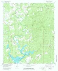 Lake Tuscaloosa North, Alabama 1978 (1986) USGS Old Topo Map Reprint 7x7 AL Quad 304356