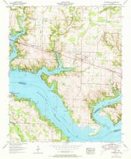 Rogersville, Alabama 1952 (1973) USGS Old Topo Map Reprint 7x7 AL Quad 304975