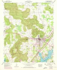 Scottsboro, Alabama 1947 (1972) USGS Old Topo Map Reprint 7x7 AL Quad 305012