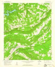 Springville, Alabama 1958 (1960) USGS Old Topo Map Reprint 7x7 AL Quad 305084