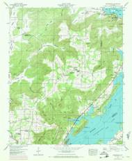 Swearengin, Alabama 1947 (1972) USGS Old Topo Map Reprint 7x7 AL Quad 305147