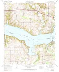 Wheeler Dam, Alabama 1971 (1991) USGS Old Topo Map Reprint 7x7 AL Quad 305379