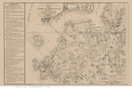 Brooklyn, NY 1767 - Ratzer - Old Map Reprint