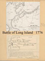 Brooklyn, NY 1776 - Onderdonk - Old Map Reprint