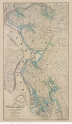 Brooklyn, NY 1876 - American Photo & Lith. Co. - Old Map Reprint
