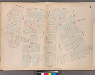 New York City, NY Fire Insurance 1852 Sheet 1 V1 - Old Map Reprint - New York