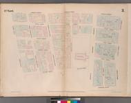 New York City, NY Fire Insurance 1852 Sheet 3 V1 - Old Map Reprint - New York