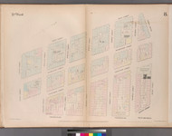 New York City, NY Fire Insurance 1852 Sheet 8 V1 - Old Map Reprint - New York