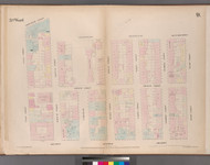 New York City, NY Fire Insurance 1852 Sheet 9 V1 - Old Map Reprint - New York