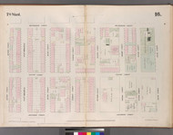 New York City, NY Fire Insurance 1852 Sheet 16 V2 - Old Map Reprint - New York