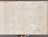 New York City, NY Fire Insurance 1852 Sheet 19 V2 - Old Map Reprint - New York