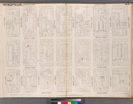 New York City, NY Fire Insurance 1852 Sheet 21 V2 - Old Map Reprint - New York