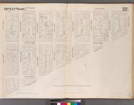New York City, NY Fire Insurance 1852 Sheet 22 V2 - Old Map Reprint - New York