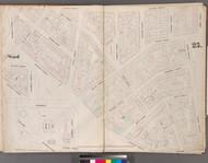 New York City, NY Fire Insurance 1853 Sheet 25 V3 - Old Map Reprint - New York