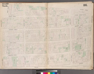 New York City, NY Fire Insurance 1853 Sheet 26 V3 - Old Map Reprint - New York