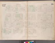 New York City, NY Fire Insurance 1853 Sheet 30 V3 - Old Map Reprint - New York