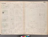 New York City, NY Fire Insurance 1853 Sheet 34 V3 - Old Map Reprint - New York