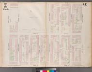 New York City, NY Fire Insurance 1853 Sheet 47 V4 - Old Map Reprint - New York