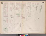 New York City, NY Fire Insurance 1853 Sheet 50 V4 - Old Map Reprint - New York