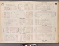 New York City, NY Fire Insurance 1853 Sheet 55 V4 - Old Map Reprint - New York