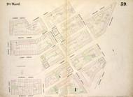 New York City, NY Fire Insurance 1854 Sheet 59 V5 - Old Map Reprint - New York