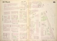 New York City, NY Fire Insurance 1854 Sheet 61 V5 - Old Map Reprint - New York