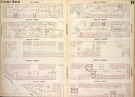 New York City, NY Fire Insurance 1854 Sheet 70 V5 - Old Map Reprint - New York