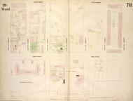 New York City, NY Fire Insurance 1854 Sheet 78 V6 - Old Map Reprint - New York