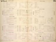 New York City, NY Fire Insurance 1854 Sheet 79 V6 - Old Map Reprint - New York