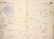 New York City, NY Fire Insurance 1854 Sheet 86 V6 - Old Map Reprint - New York