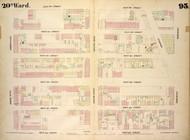 New York City, NY Fire Insurance 1854 Sheet 93 V7 - Old Map Reprint - New York