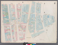 New York City, NY Fire Insurance 1857 Sheet 2 V1 - Old Map Reprint - New York