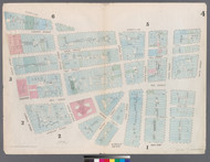 New York City, NY Fire Insurance 1857 Sheet 4 V1 - Old Map Reprint - New York