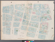 New York City, NY Fire Insurance 1857 Sheet 5 V1 - Old Map Reprint - New York