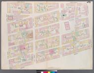 New York City, NY Fire Insurance 1857 Sheet 24 V2 - Old Map Reprint - New York