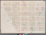 New York City, NY Fire Insurance 1857 Sheet 26 V2 - Old Map Reprint - New York