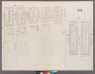 New York City, NY Fire Insurance 1859 Sheet 34 V3 - Old Map Reprint - New York