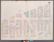 New York City, NY Fire Insurance 1859 Sheet 41 V3 - Old Map Reprint - New York