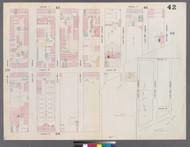 New York City, NY Fire Insurance 1859 Sheet 42 V3 - Old Map Reprint - New York