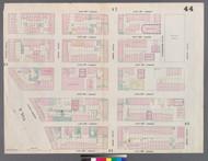 New York City, NY Fire Insurance 1859 Sheet 44 V3 - Old Map Reprint - New York