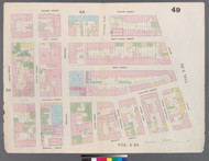 New York City, NY Fire Insurance 1859 Sheet 49 V4 - Old Map Reprint - New York