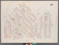 New York City, NY Fire Insurance 1859 Sheet 59 V4 - Old Map Reprint - New York