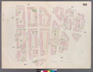 New York City, NY Fire Insurance 1859 Sheet 60 V4 - Old Map Reprint - New York