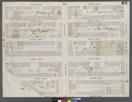 New York City, NY Fire Insurance 1859 Sheet 62 V4 - Old Map Reprint - New York