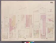 New York City, NY Fire Insurance 1859 Sheet 66 V4 - Old Map Reprint - New York