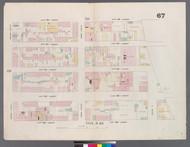 New York City, NY Fire Insurance 1859 Sheet 67 V5 - Old Map Reprint - New York