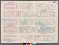 New York City, NY Fire Insurance 1859 Sheet 68 V5 - Old Map Reprint - New York