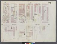 New York City, NY Fire Insurance 1859 Sheet 70 V5 - Old Map Reprint - New York