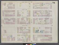New York City, NY Fire Insurance 1859 Sheet 74 V5 - Old Map Reprint - New York